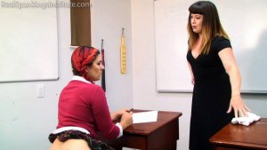 Real Spankings Institute - Stella's Afternoon With Miss Betty (part 2 Of 2) - image 6