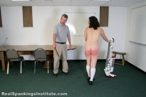 Real Spankings Institute - Stella Punished By The Dean (part 2 Of 2) - image 1