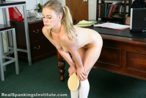 Real Spankings Institute - Stevie Is Punished By The Dean (part 1 Of 2) - image 12
