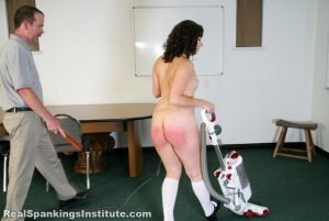 Real Spankings Institute - Stella Punished By The Dean (part 2 Of 2) - image 10