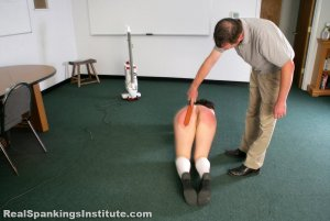Real Spankings Institute - Stella Punished By The Dean (part 2 Of 2) - image 8