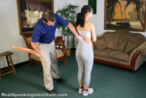Real Spankings Institute - Kiki Is Punished By The Dean (part 1 Of 2) - image 9
