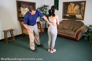 Real Spankings Institute - Kiki Is Punished By The Dean (part 1 Of 2) - image 6