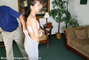 Real Spankings Institute - Kiki Is Punished By The Dean (part 1 Of 2) - image 15