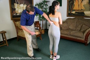 Real Spankings Institute - Kiki Is Punished By The Dean (part 1 Of 2) - image 11