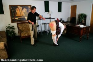 Real Spankings Institute - Monica Strapped By The Dean - image 5