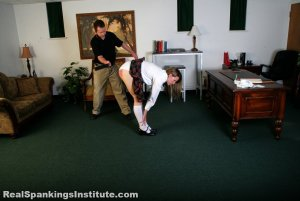 Real Spankings Institute - Monica Strapped By The Dean - image 9