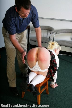 Real Spankings Institute - Stevie Is Punished By The Dean (part 1 Of 2) - image 3