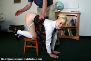Real Spankings Institute - Stevie Is Punished By The Dean (part 1 Of 2) - image 9