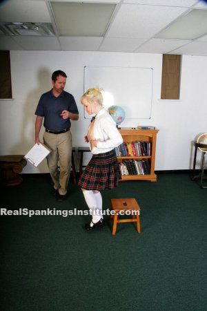 Real Spankings Institute - Stevie Is Punished By The Dean (part 1 Of 2) - image 16