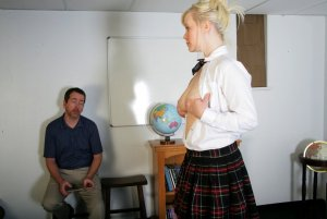 Real Spankings Institute - Stevie Is Punished By The Dean (part 1 Of 2) - image 5
