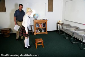 Real Spankings Institute - Stevie Is Punished By The Dean (part 1 Of 2) - image 13