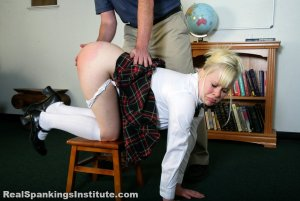 Real Spankings Institute - Stevie Is Punished By The Dean (part 1 Of 2) - image 6