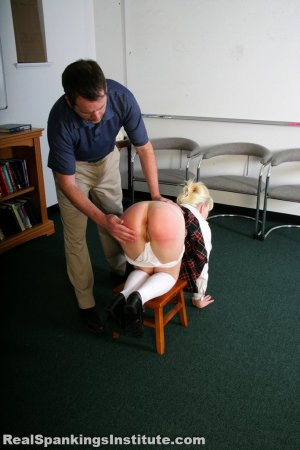 Real Spankings Institute - Stevie Is Punished By The Dean (part 1 Of 2) - image 18