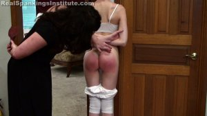 Real Spankings Institute - Lila Caught Skipping Out On Gym Class (part 1 Of 2) - image 17