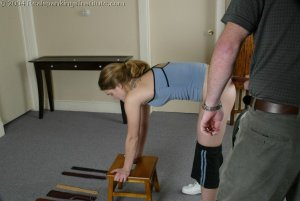 Real Spankings Institute - Mr M. Spanks Jennifer For Too Many Infractions. - image 3