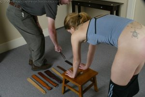 Real Spankings Institute - Mr M. Spanks Jennifer For Too Many Infractions. - image 5