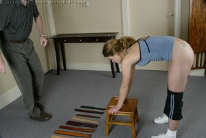 Real Spankings Institute - Mr M. Spanks Jennifer For Too Many Infractions. - image 16