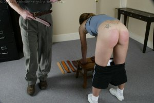 Real Spankings Institute - Mr M. Spanks Jennifer For Too Many Infractions. - image 17