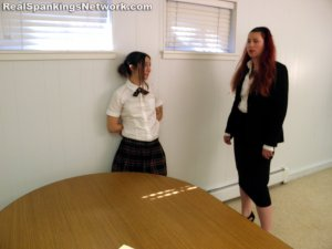 Real Spankings Institute - Harlan Paddled In Front Of Abigail (part 2 Of 2) - image 9