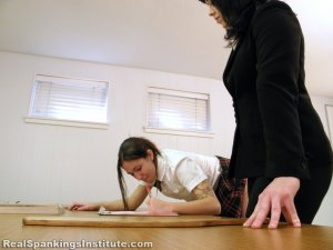 Real Spankings Institute - Harlan Paddled In Front Of Abigail (part 1 Of 2) - image 7