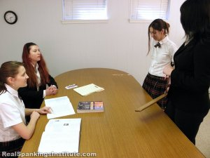 Real Spankings Institute - Harlan Paddled In Front Of Abigail (part 1 Of 2) - image 6