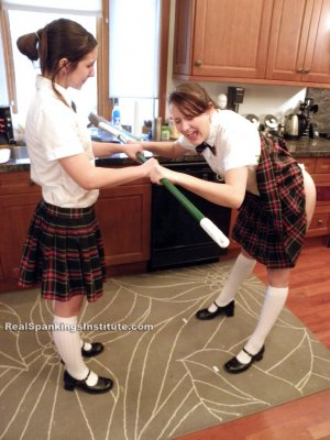 Real Spankings Institute - Abigail And Harlan Strapped For Fighting (part 1 Of 2) - image 16