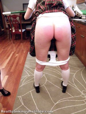 Real Spankings Institute - Abigail And Harlan Strapped For Fighting (part 1 Of 2) - image 18