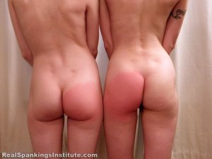 Real Spankings Institute - Kajira And Lila Caught In The Shower Together (part 1 Of 2) - image 14
