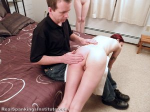 Real Spankings Institute - Kajira And Lila Caught In The Shower Together (part 1 Of 2) - image 17