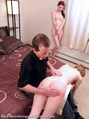 Real Spankings Institute - Kajira And Lila Caught In The Shower Together (part 1 Of 2) - image 4
