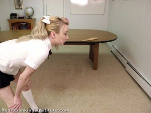 Real Spankings Institute - Allison Is Paddled By The Dean - image 17