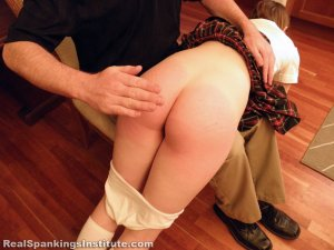 Real Spankings Institute - Roxie: Spanked Otk By The Dean - image 13