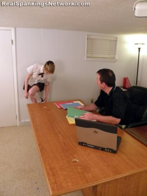 Real Spankings Institute - Lila Is Exposed And Spanked - image 3