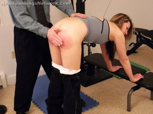 Real Spankings Institute - Monica Spanked For Her Bad Attitude - image 2