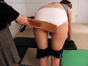 Real Spankings Institute - Punished For Uniform Infraction - image 4