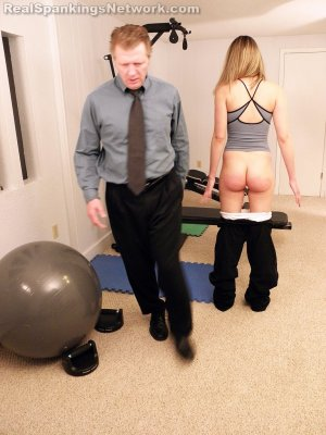 Real Spankings Institute - Monica Spanked For Her Bad Attitude - image 4