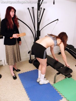 Real Spankings Institute - Punished For Uniform Infraction - image 5