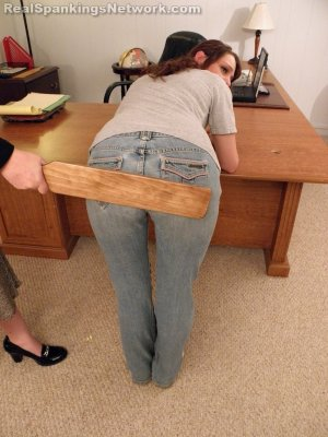 Real Spankings Institute - Paddled For Fighting - image 2