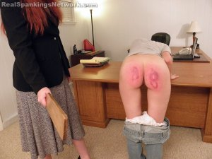 Real Spankings Institute - Paddled For Fighting - image 6