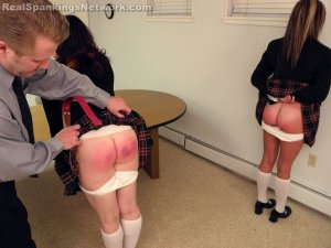 Real Spankings Institute - Betty And Riley Caught With Forged Note (part 3 Of 3) - image 6