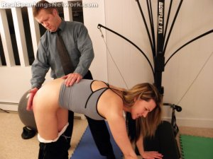 Real Spankings Institute - Monica Spanked For Her Bad Attitude - image 16