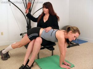 Real Spankings Institute - Monica Spanked By Miss Blake (part 1 Of 2) - image 6