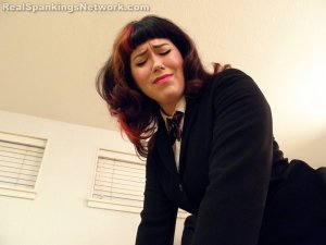 Real Spankings Institute - Betty And Riley Caught With Forged Note (part 3 Of 3) - image 8