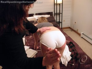 Real Spankings Institute - Monica's Dorm Room Inspection (part 1 Of 2) - image 3