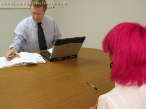 Real Spankings Institute - Kiki Punished In Study Hall (part 2 Of 2) - image 10