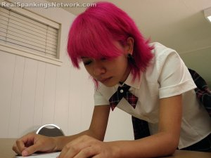 Real Spankings Institute - Kiki Punished In Study Hall (part 2 Of 2) - image 9