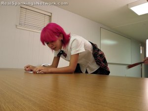 Real Spankings Institute - Kiki Punished In Study Hall (part 2 Of 2) - image 14