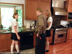 Real Spankings Institute - Monica And Roxie Caught Making Fun Of Danny (part 1 Of 2) - image 2