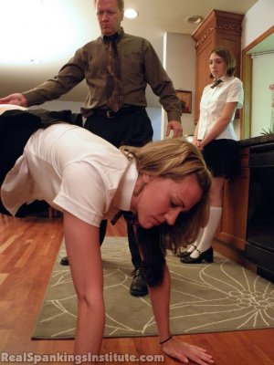 Real Spankings Institute - Monica And Roxie Caught Making Fun Of Danny (part 1 Of 2) - image 7